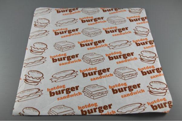 Giấy Kraft gói burger